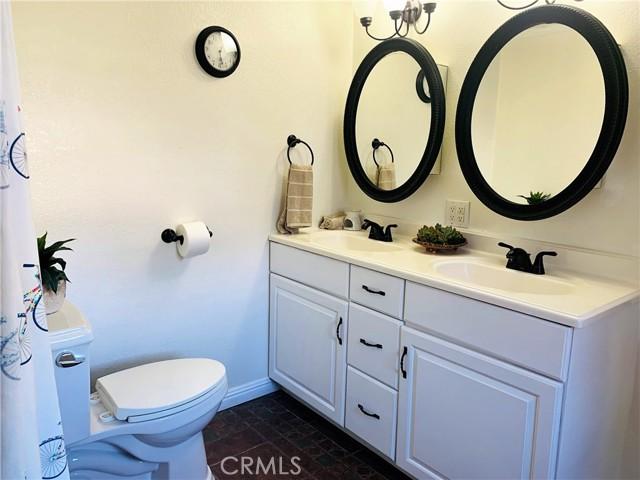 master bathroom (double sink)