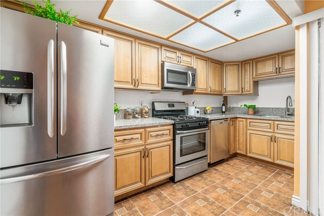 Kitchen showing oven, dishwasher and microwave oven which are included in the price.