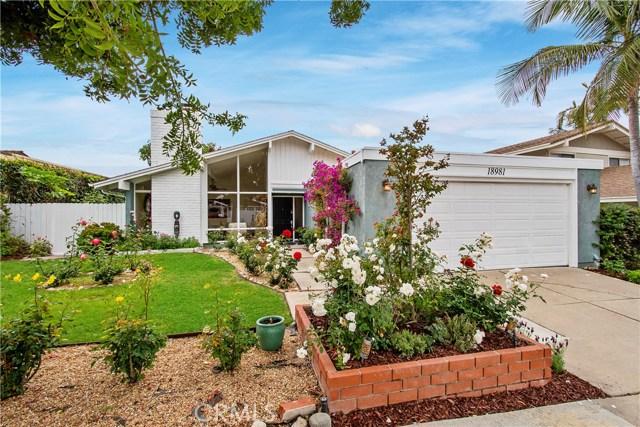18981 Racine Drive, Irvine, CA 92603
