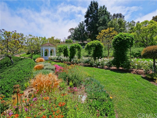 Incredibly lush and immaculate landscaping can be found throughout the grounds