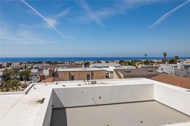 Stunning views from the rooftop deck (engineered for a spa)