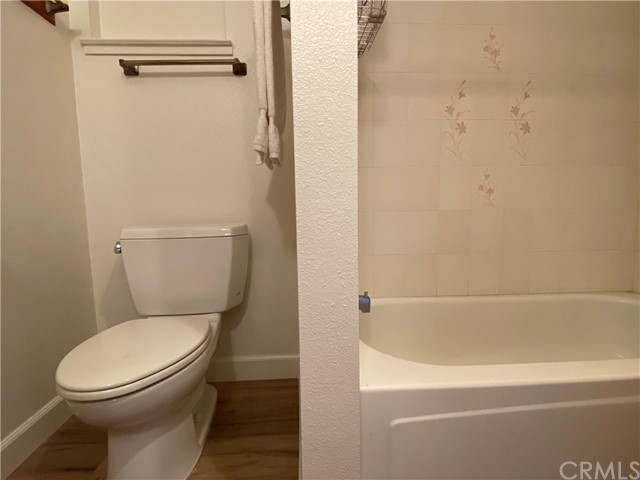 Guest Bath with Shower over tub.