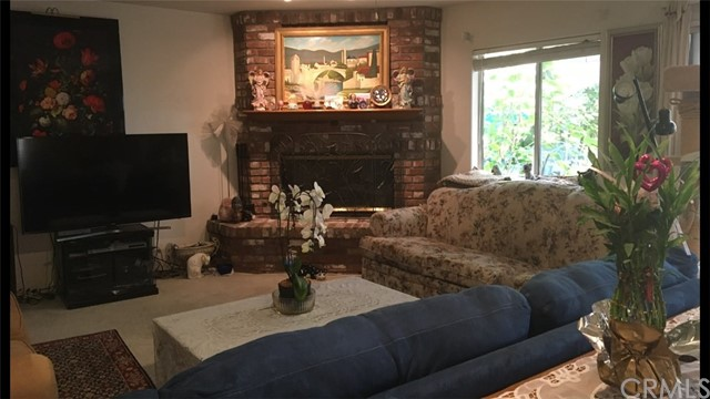 View of Family Room from Kitchen