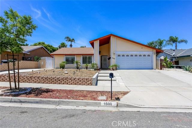 1500 Evergreen, Corona, CA 92879