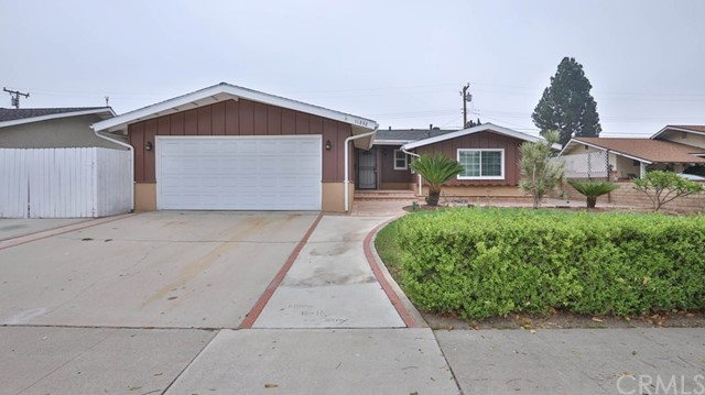 Don't miss this opportunity to own a well maintained and ready to move in home in a highly desirable Garden Grove neighborhood. This single level home offers 1,811 sqft of quiet living space with 3 bedrooms and 3 baths ( king master bedroom divide into 2 room) . Granite counter top kitchen has easy to access to dining area for serving meal. Laminate wood floor through out. Enclosed patio is perfect for family gathering . Big Lot is deep 7,396 sqft has a size yard with garden with all block fence. Attached two car garage and plenty of parking in front. Great location, friendly neighborhood : Close to shopping, restaurants, entertainment, schools, and easy to access to 405 and 22 freeway.