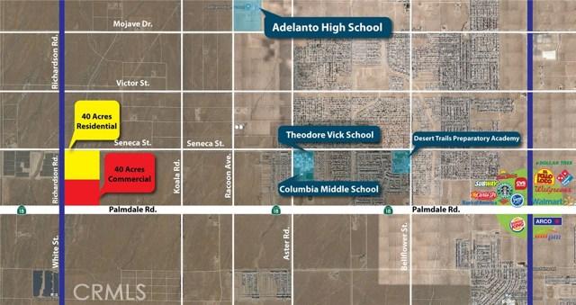 31025110 Palmdale Road/ Richardson Rd, Adelanto, CA 92301