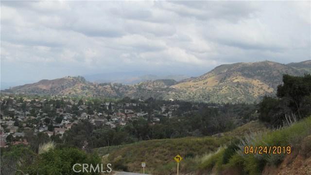 0 Broken Spur Road, La Verne, CA 91750