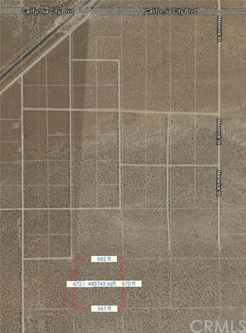 0 Vacant Land, California City, CA 93504