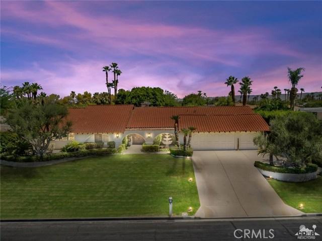 70800 Tamarisk Lane, Rancho Mirage, CA 92270