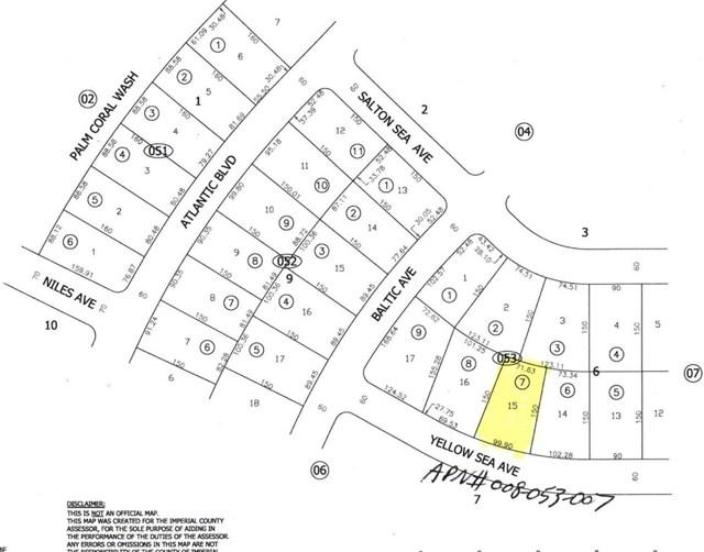 1136 Yellow Sea Avenue, Salton City, CA 92275