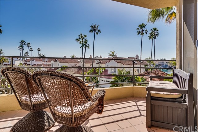 Enjoy Peaceful Moments and Cool Breezes from Your Private Patio