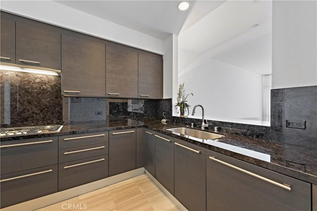 Contemporary Kitchen with Gaggenau appliances