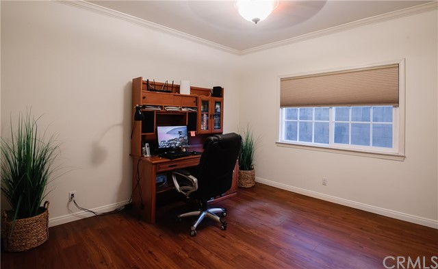 Office on main floor, could be 5th Bedroom.
