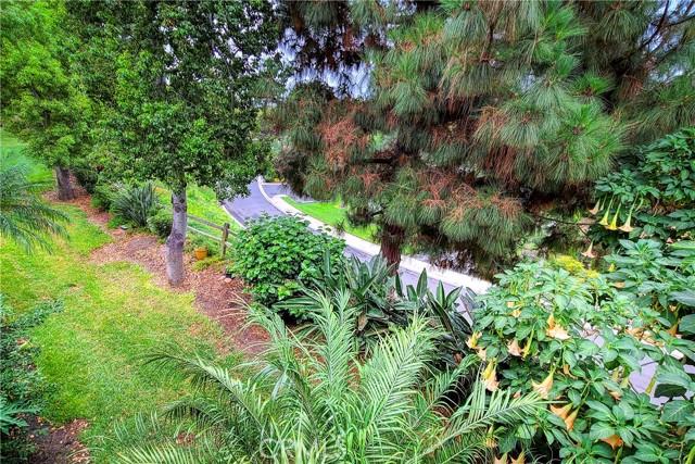 Lush landscaping.