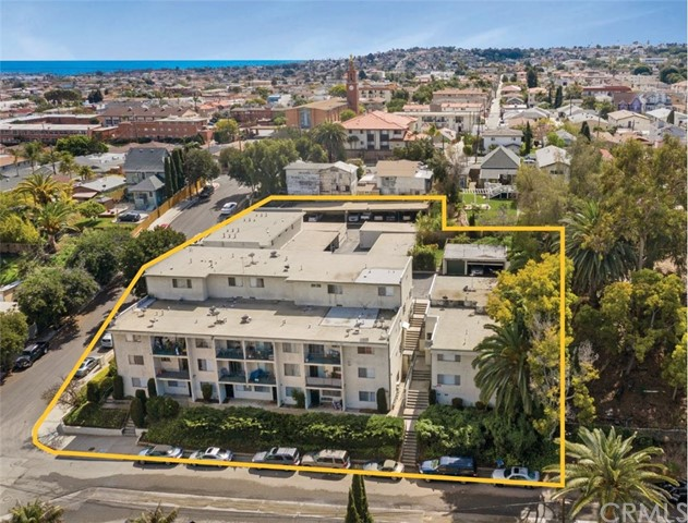 "The Villa del Arroyo Apartments offer a rare opportunity in the unincorporated / high end area of ""La Rambla"" in San Pedro, CA.  Consisting of 28 Units (25 Legal + 3 Non-Conforming), the property is situated on a 31,157 Sq. Ft. corner lot, located at the cross roads of 515 Meyler Ave., and 917 W,. 5th St.  The property consists of three separate buildings built in 1972, which feature Ocean/ Harbor Views (Select Units), Large Balconies and Patios, and an abundance of Parking which feature (28) carport spaces, (3) two-car garages, (1) one-car garage and (2) uncovered parking spaces.   Another bonus to this asset, is the outstanding unit mix of: (1) - 2 Bed / 2 Bath, (1) - 2 Bed / 1.5 Bath Townhome, (1) - 2 Bed / 1.5 Townhome Non-Conforming, (14) - 2 Bed / 1 Bath, (1) - 1 Bed / 1 Bath Non-Conforming, (9) - 1 Bed / 1 Bath, (1) - Studio Non-Conforming Units  Additionally, the buildings are copper plumbed and the roof was replaced within the last 10 years+/-.  Please drive by only, and do not disturb the tenants."
