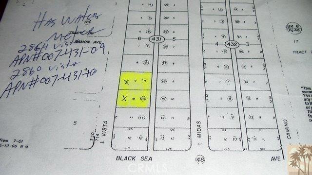 2860 Vista (water meter) Avenue, Salton City, CA 92275