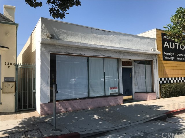 Vacant retail/office site in the heart of Pico business district.  Five parking spaces (very unusual in this neighborhood).  New roof but building needs TLC.  Great location.  Zone is SMC2; Master Plan is Neighborhood Commercial.  Please confirm lot and building size, Zoning and use.  Excellent owner/user opportunity.  Likely eligible for SBA 10% down owner-user financing.  Seller motivated.  Submit.