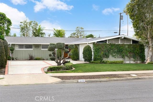 249 Hanover Drive, Costa Mesa, CA 92626