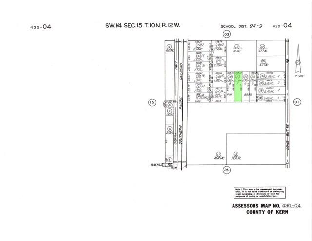 0 430-040-23-00-4 Ericka Avenue, Mojave, CA 93501