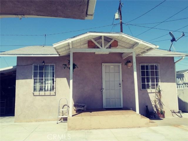 4641 E 53rd Street, Maywood, CA 90270