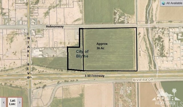 31.28 Acres on E Hobsonway, Blythe, CA 92225