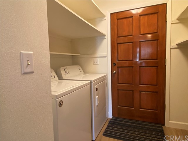 Laundry Room. Door leads to outside.