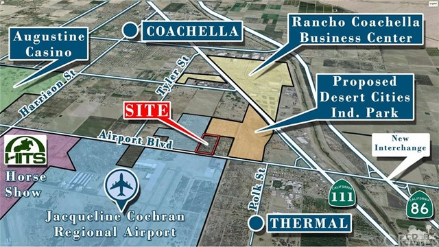 86600 Airport Blvd, 19.5 ac E Tyler Boulevard, Thermal, CA 92274