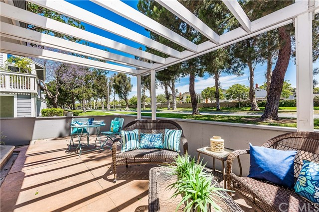 Your patio is the perfect place to enjoy your morning cup of coffee or dinner in the evening!