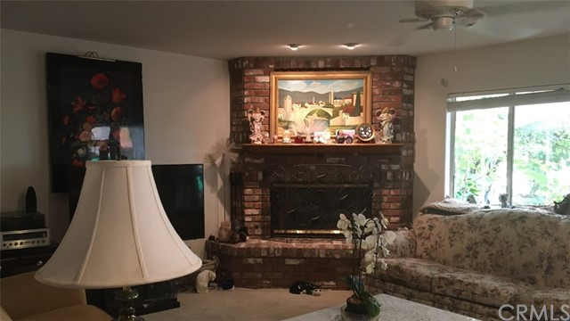 View of gorgeous fireplace for those cold winter nights