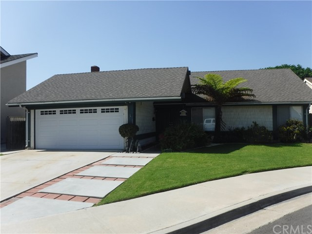 Cul-De-Sac: 4 Bedroom 2 Bath Home, Kitchen With Stove, Dishwasher, Separate Dining Area, Ceiling Fan, Vaulted Ceilings, Vertical Blinds, Brick Fireplace, Laundry Hook-Up's, Large Yard, Double Attached Garage, Covered Patio, Near Park And Schools.