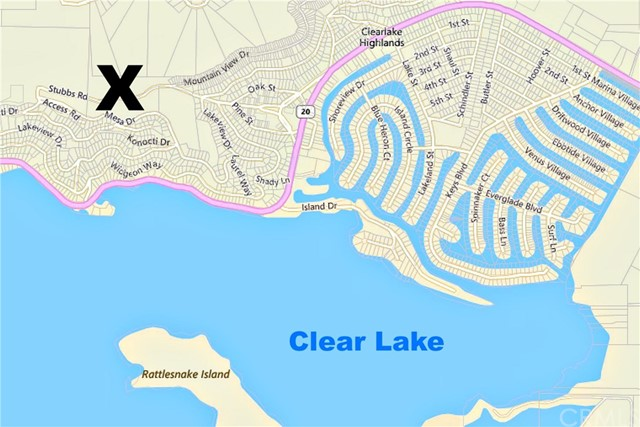 12200 Mountain View Drive, Clearlake Oaks, CA 95423