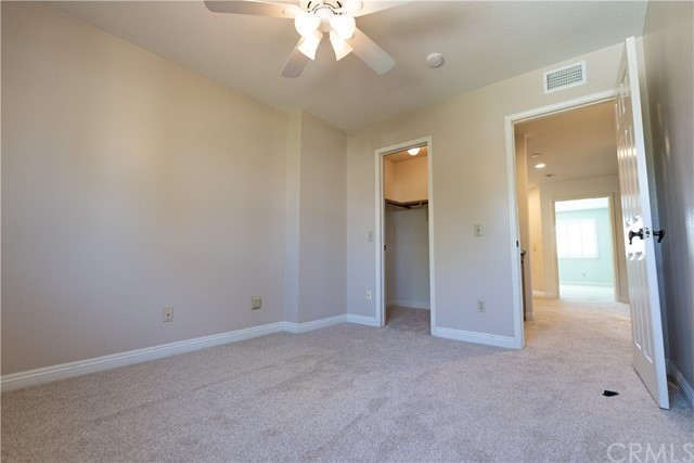 Upstairs Bedroom with Walk in closet