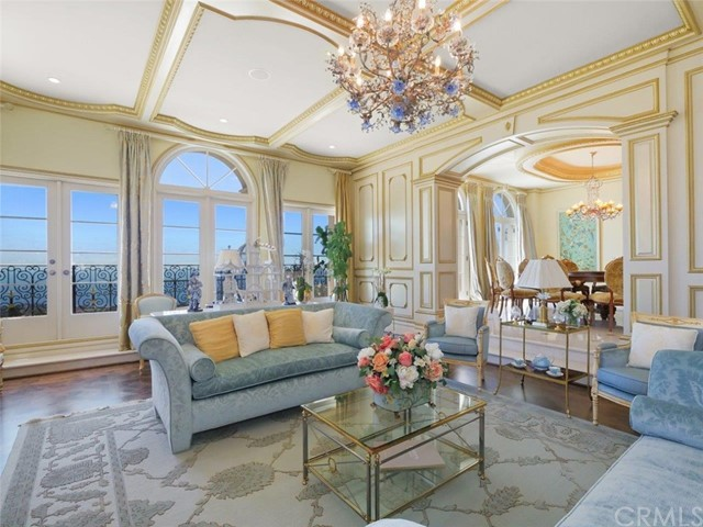 Formal Living Room with View