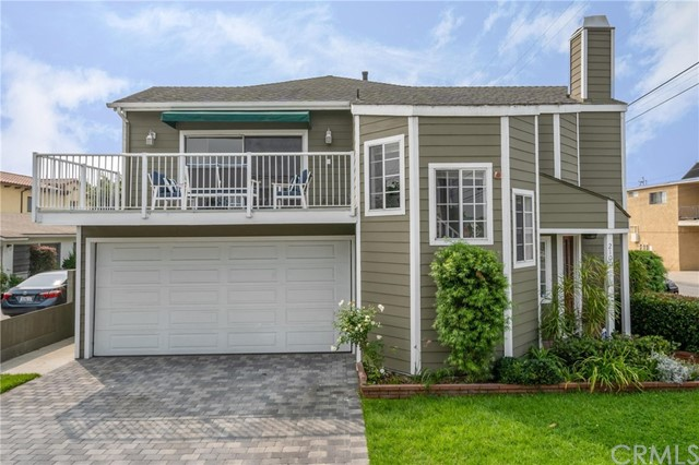 Located on a quiet corner, this unique and spacious Redondo Beach townhouse has great curb appeal and feels like a single family home! There is no shared driveway so you can enjoy the convenience and utility of two additional parking spaces in front of the garage. Newly remodeled with a contemporary look, the upper level, which is accessed by a semi-circular staircase, is light and open and features vaulted beam ceilings, new wood flooring, a half bath with pedestal sink and two over-sized decks. The new kitchen features stainless Kitchen Aid appliances, stainless hood, custom cabinets with soft close drawers & doors, under cabinet lighting, stainless refrigerator, wine refrigerator, Antolini Quartz counter tops, breakfast bar and in-kitchen dining area. The huge great room features a wet bar and stone fireplace. The lower level has a spacious master suite plus two other bedrooms and an additional full bath. Other features include new ceiling fans, new blinds, central vac, alarm system, Ring video doorbell, System Pavers custom stone driveway. Large 2 car garage has a raised storage area and an electric car charging station. There is an additional shared parking spot. Great location close to shopping, restaurants, Starbucks, CVS, public library, post office, schools and parks - the walk score is 88! Enjoy the fresh ocean breeze - you are only 1 3/4 miles to the ocean and the beach! See attached virtual tour.