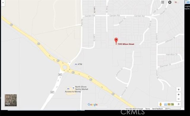7295 Wilson Street, Nice, CA 95464