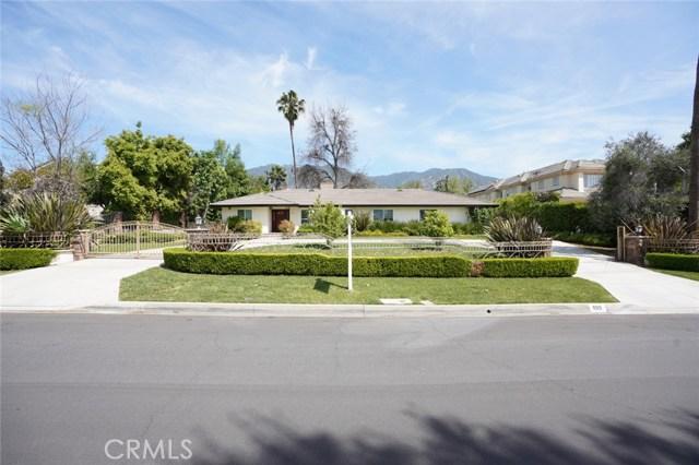 629 Arbolada Drive, Arcadia, CA 91006
