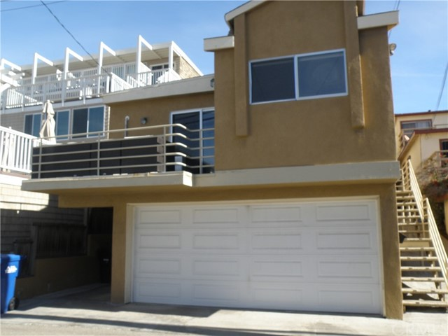 Beach living at its finest! Come see this recently remodeled 2 bed 11/2 bath upstairs apartment in the Hermosa Sand section! Just TWO BLOCKS FROM THE BEACH!! Enjoy the ocean breezes some ocean vieqw from the large balcony off the living room. Brand new, completely remodeled kitchen and baths. Breakfast bar and dining area. Gorgeous wide plank wood flooring .. Laundry on premises, includes one parking spot with plenty of street parking on Manhattan Ave.