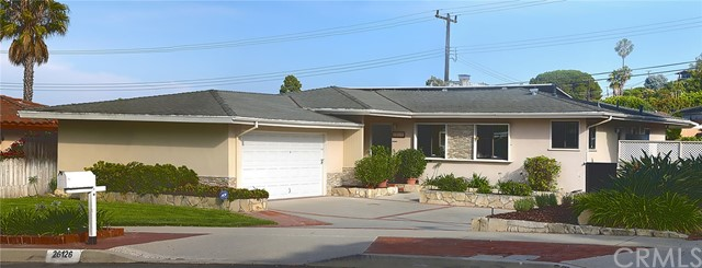 26126 Birchfield Avenue, Rancho Palos Verdes, California 90275, 4 Bedrooms Bedrooms, ,1 BathroomBathrooms,For Sale,Birchfield,PV18202701
