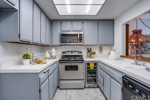 new appliances in the kitchen