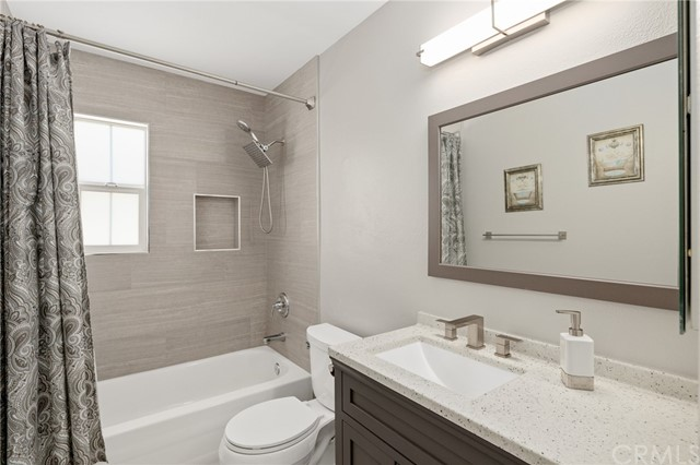 remodeled full bathroom for 2nd & 3rd bedrooms