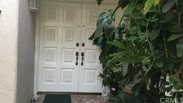 Entrance to home from courtyard