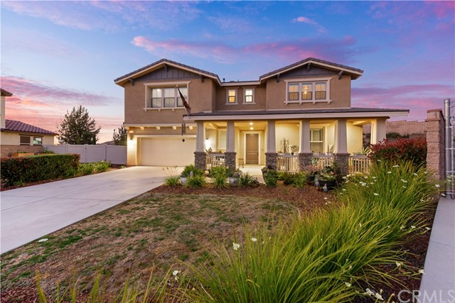 Welcome to your One of a Kind, Highly Upgraded, Semi Custom Home on nearly a 1/2 Acre Lot Nestled in Prime Location in the Highly Desired Sycamore Creek Neighborhood! This Turn-Key, Better than New, 5 Bed, 5 Bath Home is one of a kind, boasting the Largest Premium Lot in the Community w/ RV Access & Over 150k in Upgrades! ?Upon Entry, you're greeted with an Expansive Open Floor Plan w/ Stunning Upgraded Ceramic Laminate Flooring, a large Flex Room, Dining Space & Office along w/ a Full Size En-suite Bedroom Downstairs. The Kitchen Features a Large Island, Dark Wood Cabinetry w/ Matching Granite, Upgraded Lighting & Overlooks the Spacious Great Room, Home to a Cozy Fireplace, Plantation Shutters and Custom 16 ft Sliders to the backyard! The Second Floor Features a Spacious Loft, 3 more Large Guest Bedrooms & The Master Suite. The Master Bath Retreat has Dual Sinks, Upgraded Cabinets & Counters, Huge Separated Tiled Tub & Shower and a Deep Walk In Closet! Walking out the the Backyard is truly your very own Private Oasis, Home to a Massive Pool Sized Lot measuring near 1/2 an Acre with Stunning Views & No Neighboring homes behind. The Backyard Boasts a Large Enclosed California Room w/ Lighting & Fan, Vinyl and Block Wall Fencing, RV Access and untouched skyline views from every angle! Other Upgrades include: Custom Paint, Upgraded Pad, Built-in Surround S