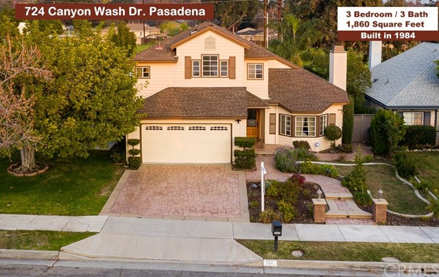 724 Canyon Wash Drive, Pasadena, CA 91107