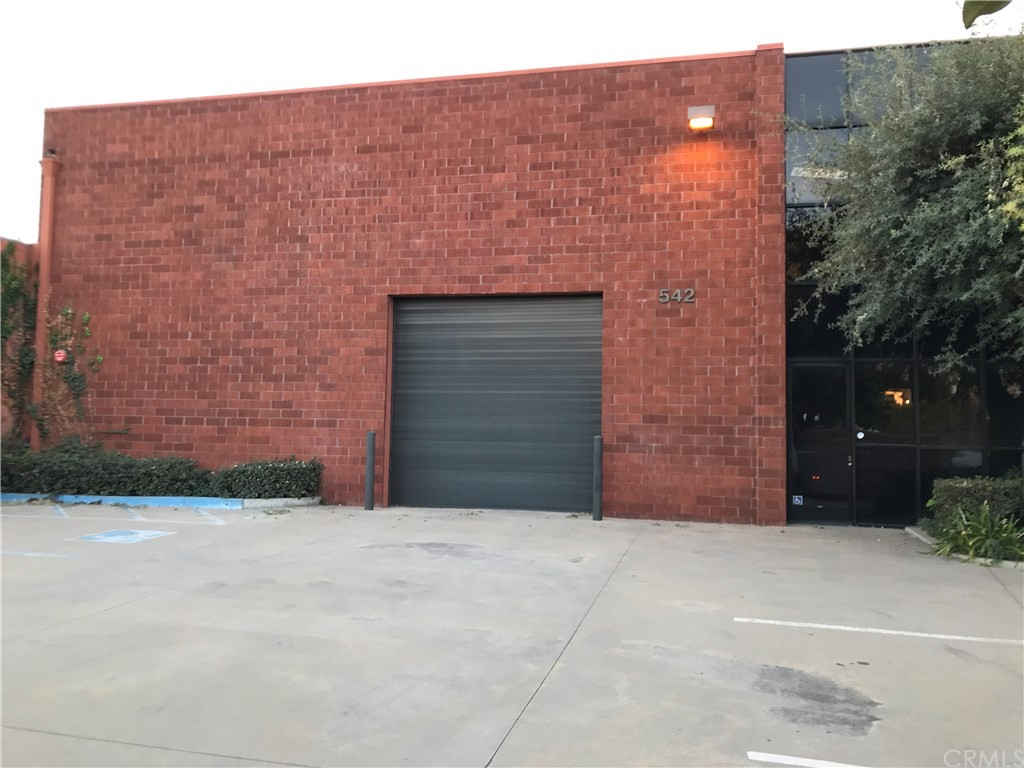 Brick building in industrial area of Fullerton.  Lots of potential.  Parking in the front, office space, restroom, roll-up door and high ceiling.  Adjacent property also for sale (536 E. Walnut).  Seller open to a package deal offer for both buildings.  Property located just off the Main Street and close to the freeway.  Buyer to do own inspection and verify all Specs and square footage as measurement is estimate.