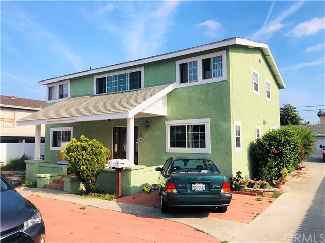 We are pleased to present 2820 E 70th St in Long Beach. This charming 2-story duplex features (1) 3-Bedroom/2-Bath downstairs unit and (1) 3-Bedroom/1.5-Bathroom upstairs unit, for a total living area of 2,496 sqft. Situated on a large 9,186 sqft. lot, there is an abundance of parking between the (2) 2-car garages, driveway and additional uncovered parking space. The units are well-maintained with minor updates and recent painting. Each unit features its own water heater, Central AC & Heating, as well as individual metering for gas & electric. There are W/D hookups in each unit and the current owner also recently installed brand new white perimeter fencing. With great in-place income and rental upside rent potential, this is an excellent opportunity for an owner-user and investor alike to acquire an investment property in one of the most rapidly developing cities in Los Angeles.