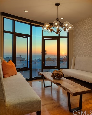 Watch the sunset from this beautiful nook