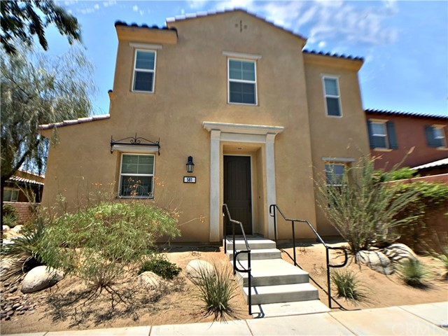 Resort living in luxurious 2 story townhouse stand alone home at Spanish Walk, gated community, 3 pools and spas, low maintenance yard, large open park with playgrounds. Gorgeous clubhouse has billiard room & upscale fitness center. 3 car tandem garage with a lot of overhead storage space. Stainless steel refrigerator, private laundry room with washer and dryer included. Kitchen features SMART appliances and a large center island with granite counter tops, a ton of cabinetry. Open floor plan, high ceilings, hardwood floor on 1st floor plus built in Murphy bed in den. Master suite has walk in closet, double vanity sinks, bathroom shower has rain-head. Loft on 2nd floor can be a private theater or additional bedroom. Property located in IID energy grid for lower electric bill. Near shopping center, gas station, DMV Colleges and Kaiser hospital. Minutes from 10 Freeway Additional Features: Parking, Pool, Exercise Facility, Garage, Yard. Appliances: Dishwasher, Refrigerator, Range, Garbage Disposal, Washer & Dryer, Microwave