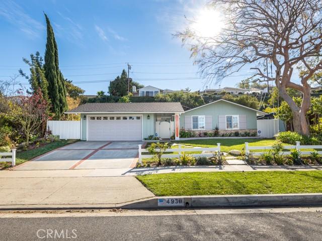 4930 Elmdale Drive, Rolling Hills Estates, California 90274, 3 Bedrooms Bedrooms, ,2 BathroomsBathrooms,For Sale,Elmdale,SB21022123