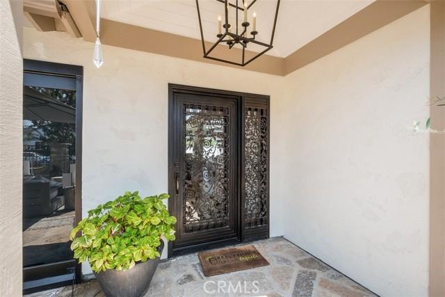 Custom designed front door