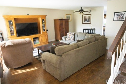 Inviting, spacious Living Room